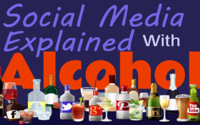 [Infographic] Social Media Explained with Alcohol