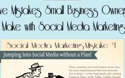 [Infographic] 5 Social Media Marketing Mistakes